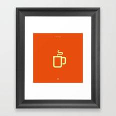 Coffee: The Drink Framed Art Print