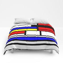 Cubism Painting Art Retro Pattern Comforters