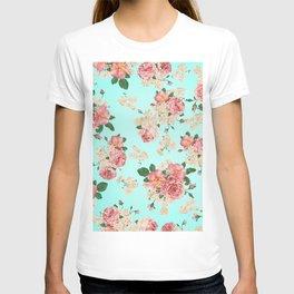 Shallow Waters Floral #society6 #decor #buyart T-shirt