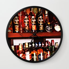 Booze Wall Clock