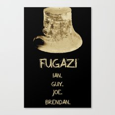This Is Not A Fugazi Poster Canvas Print