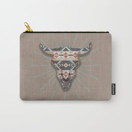 Cow Skull Induco Carry-All Pouch