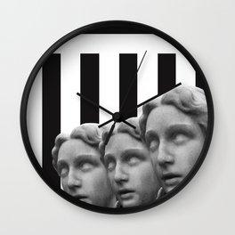 Striped Ladies Wall Clock