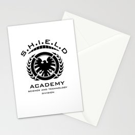 S.H.I.E.L.D Academy > Science and Technology Division Stationery Cards