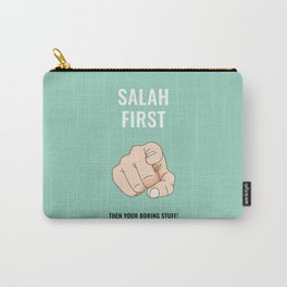 Salah First - Turquoise Carry-All Pouch