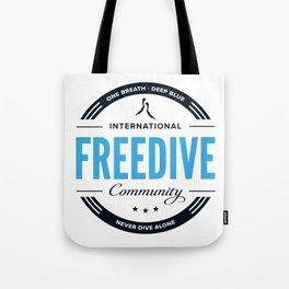 Freedive Community Tote Bag
