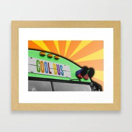 Cool Bus Framed Art Print