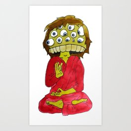 sadhu Art Print
