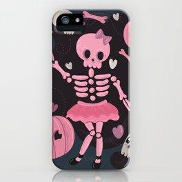 Love Potion Skeleton Dance iPhone Case