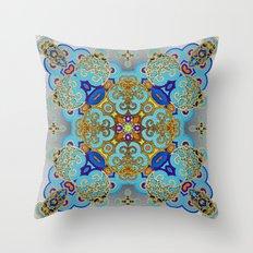 Mix&Match Byzantine Mosaic 03 Throw Pillow