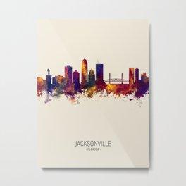 Jacksonville Florida Skyline Metal Print