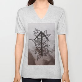 Warrior Rune Unisex V-Neck