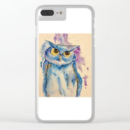 Wide Eyes Clear iPhone Case