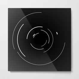 Orbital Mechanics by Diagraf and Ewerx Metal Print