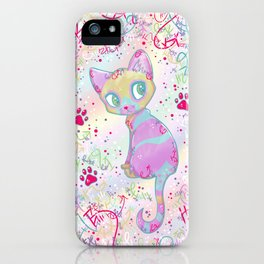 Mystical Little Kitty iPhone Case
