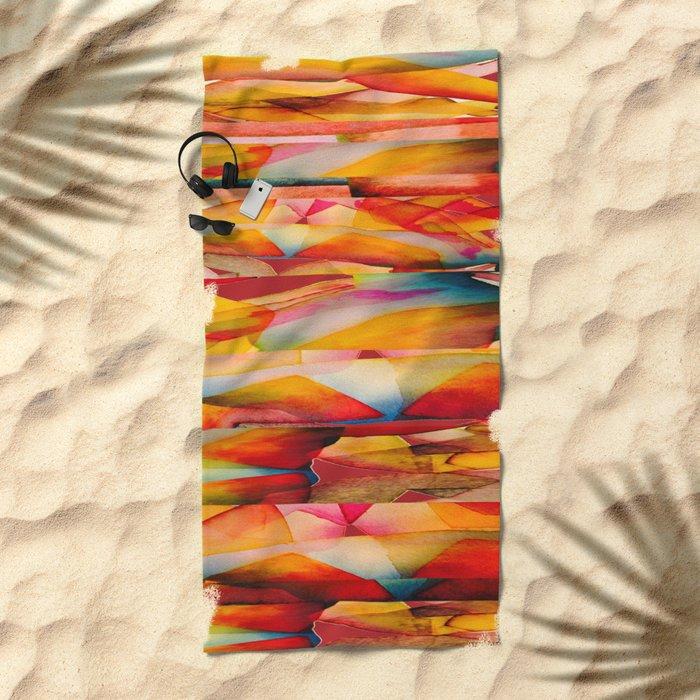 Vitral Beach Towel