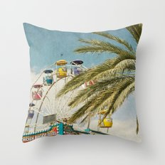 Carnival South Throw Pillow
