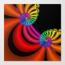 life is colorful -6- Canvas Print