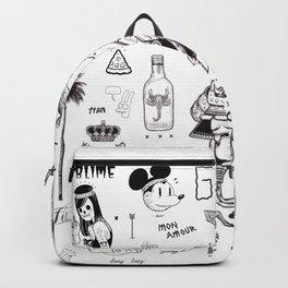 B&W Flash Backpack