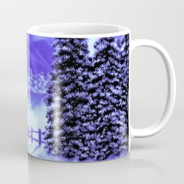 Moon Over The Mountain Coffee Mug