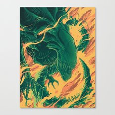 YOU BITCH! Canvas Print