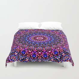 Mosaic Kaleidoscope 2 Duvet Cover
