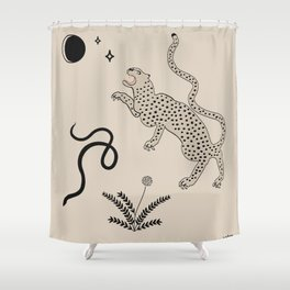 Desert Prey Shower Curtain