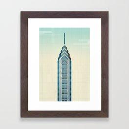 One Liberty Place - Philadelphia Framed Art Print