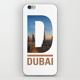 D-ubai iPhone Skin