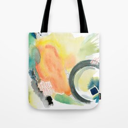 Summer Storm Abstract Tote Bag