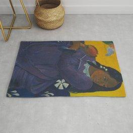 Paul Gauguin - Woman with Mango Rug