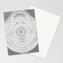 Metamorphic (gray) Stationery Cards