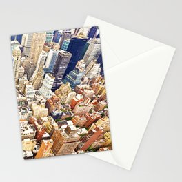 New York Buildings Stationery Cards