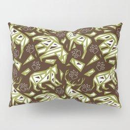 Spirit Animals Mountain - Bear - Cougar - Elk Pillow Sham