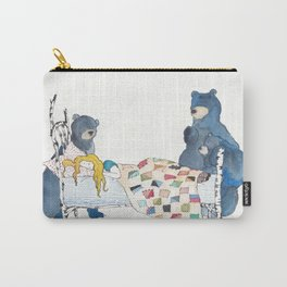 The Bears and Goldilocks Carry-All Pouch