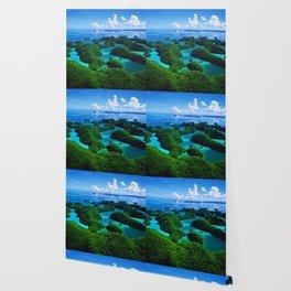 Palau Islands' Tropical Paradise Wallpaper