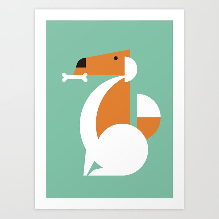 Chewy Art Print