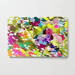 Vibrant Colors Metal Print