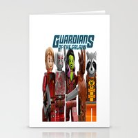 guardians of the galaxy Stationery Cards featuring guardians of the galaxy by store2u