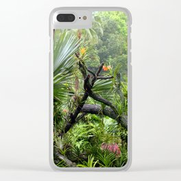 Singapore Botanical Garden 2 Clear iPhone Case