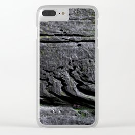 Crossbed Cavities Clear iPhone Case