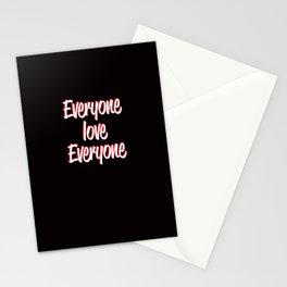 Everyone Love Everyone Stationery Cards