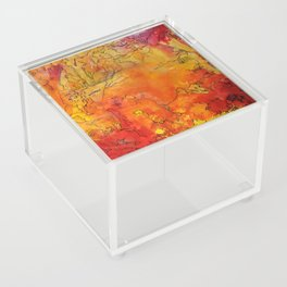 Yellow Dreams Acrylic Box