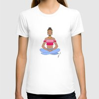meditation T-shirts featuring Meditation by Kristen Bisson