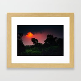 Kakadu Storm Framed Art Print
