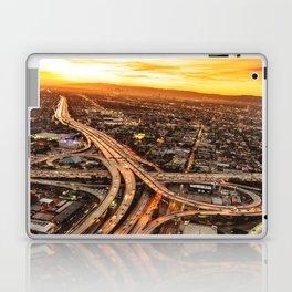 los angeles junction Laptop & iPad Skin