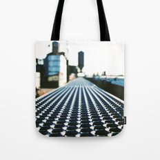 Rail-yard vision Tote Bag