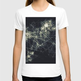 Infinity Particles Abstract T-shirt