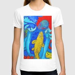 My Fish #Socety6 #buy art #decor T-shirt