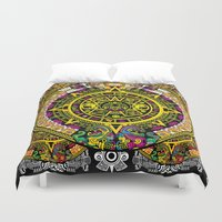 fabric Duvet Covers featuring Fabric Pattern by Eduardo Doreni